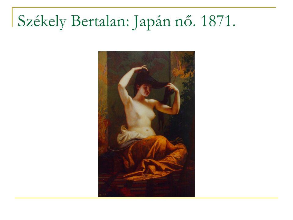 Székely Bertalan: Japán nő. 1871.