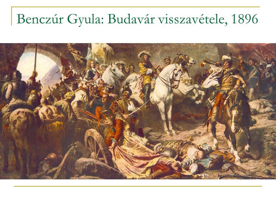 Benczúr Gyula: Budavár visszavétele, 1896