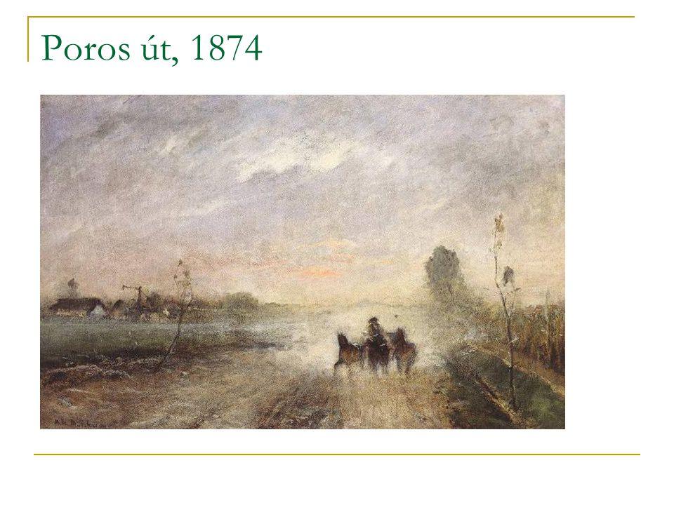 Poros út, 1874