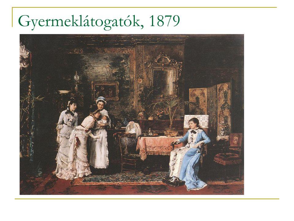 Gyermeklátogatók, 1879