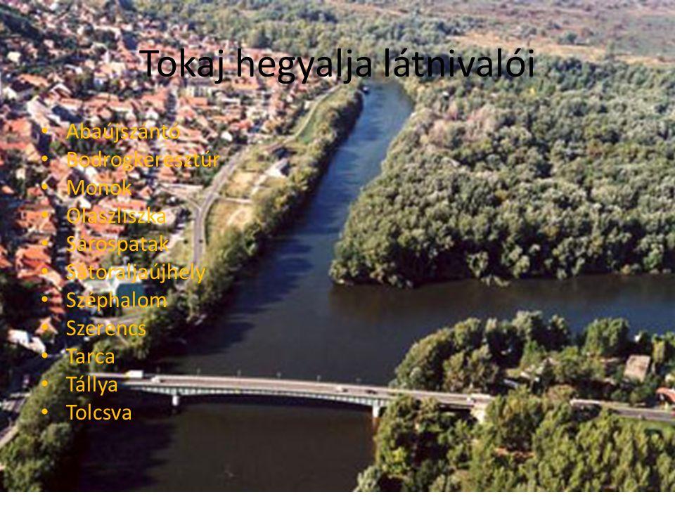 Tokaj hegyalja látnivalói