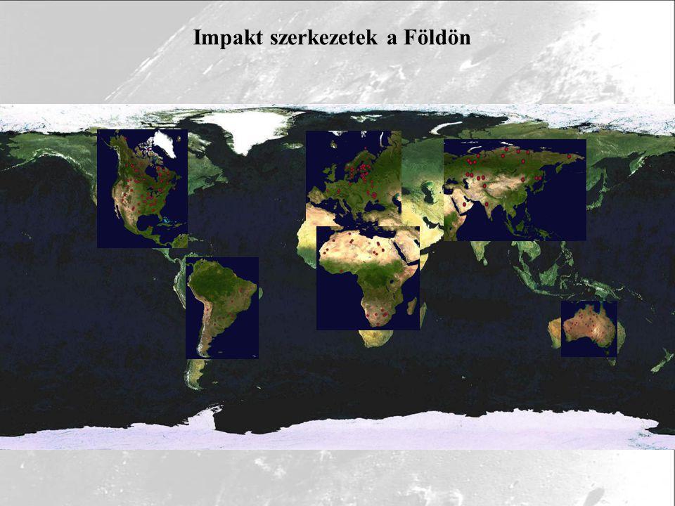 Impakt szerkezetek a Földön