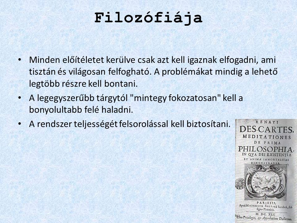 Filozófiája