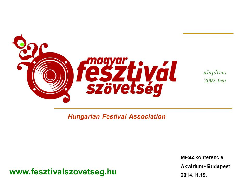 Hungarian Festival Association