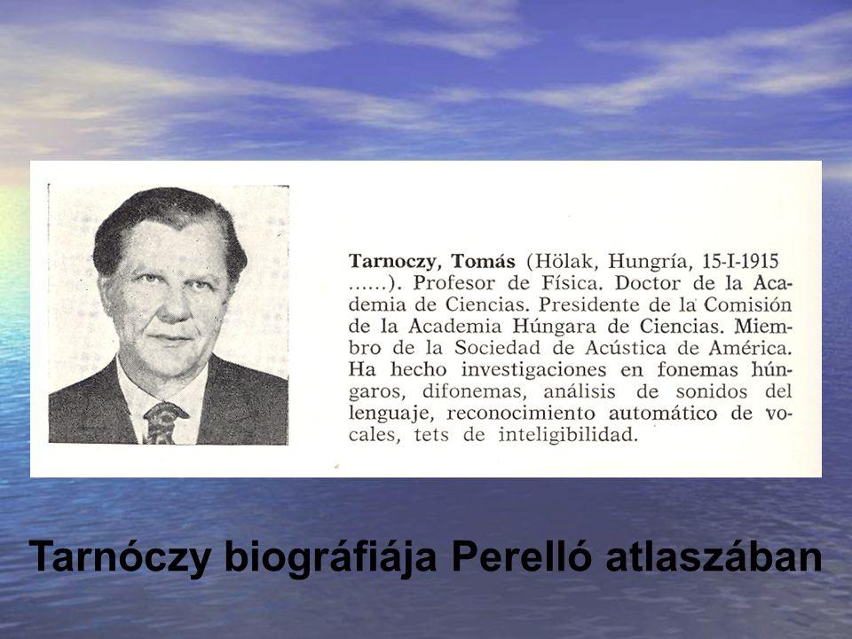 Tarnóczy biográfiája Perelló atlaszában