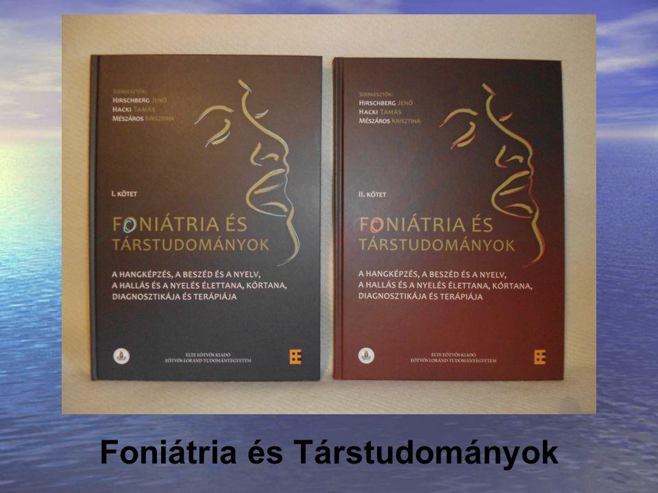 Foniátria és Társtudományok