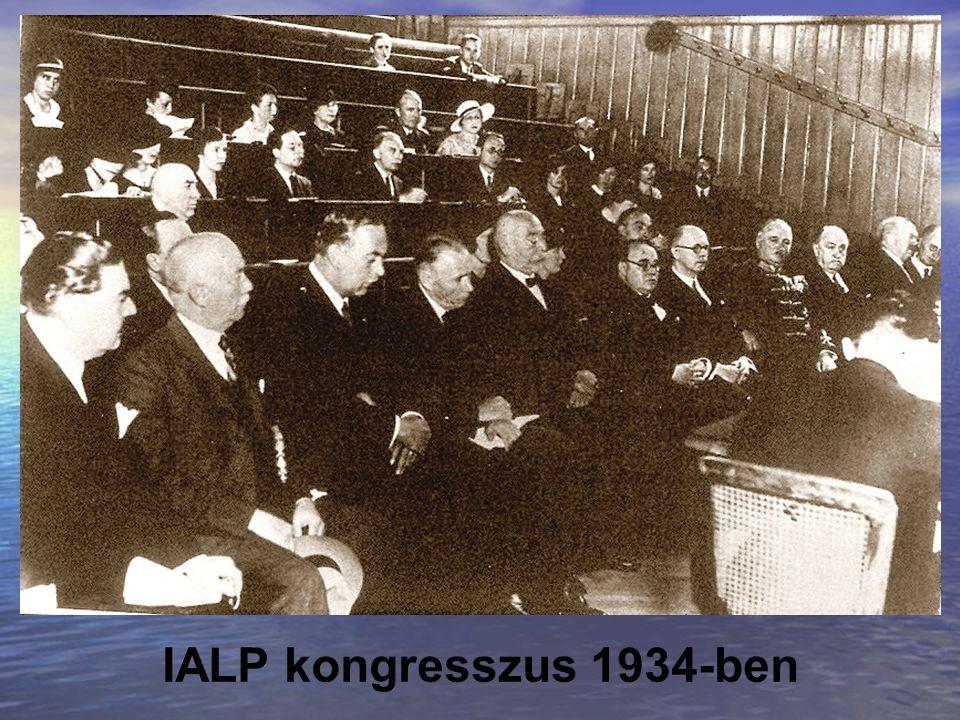 IALP kongresszus 1934-ben