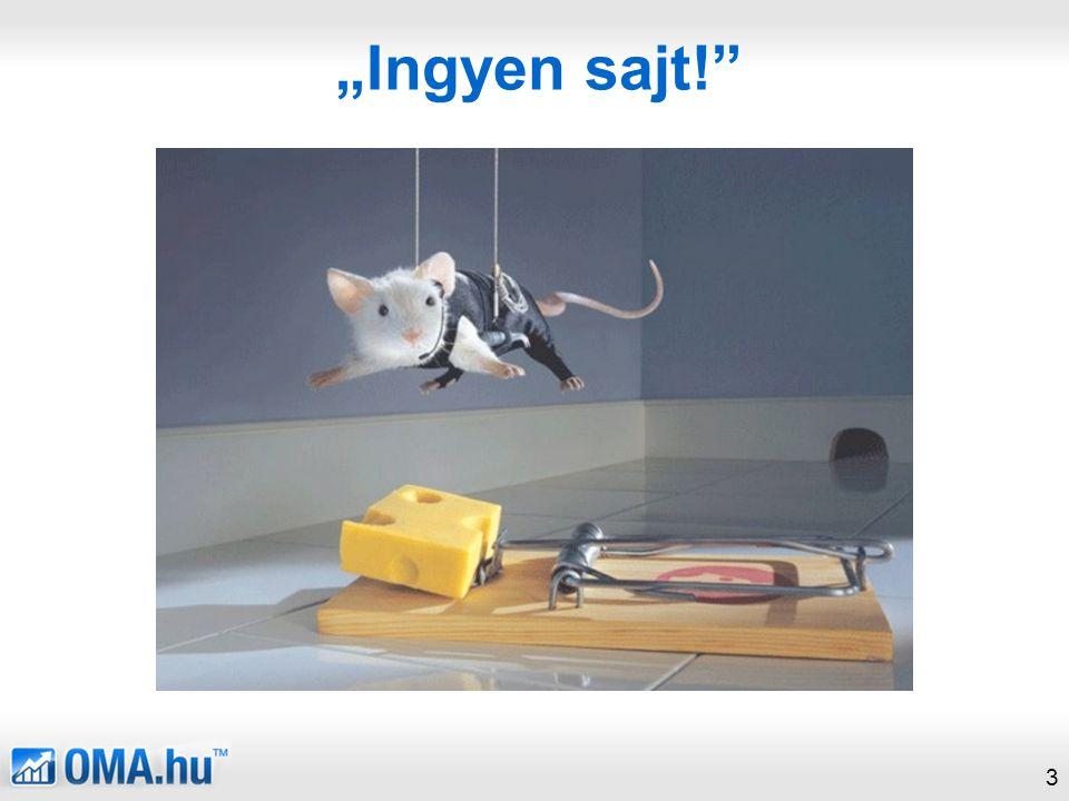 """""""Ingyen sajt! 3"""