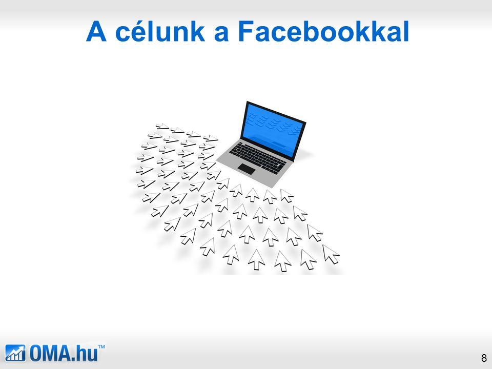 A célunk a Facebookkal 8