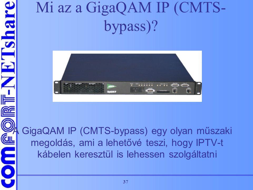 Mi az a GigaQAM IP (CMTS-bypass)