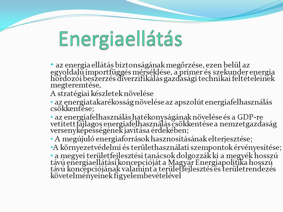 Energiaellátás