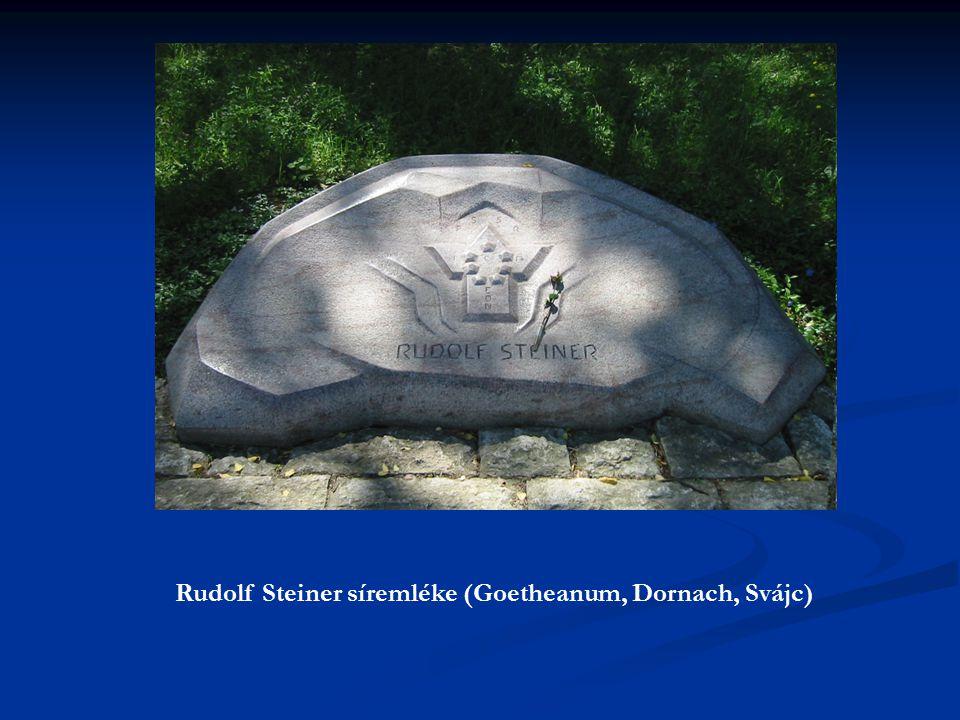 Rudolf Steiner síremléke (Goetheanum, Dornach, Svájc)