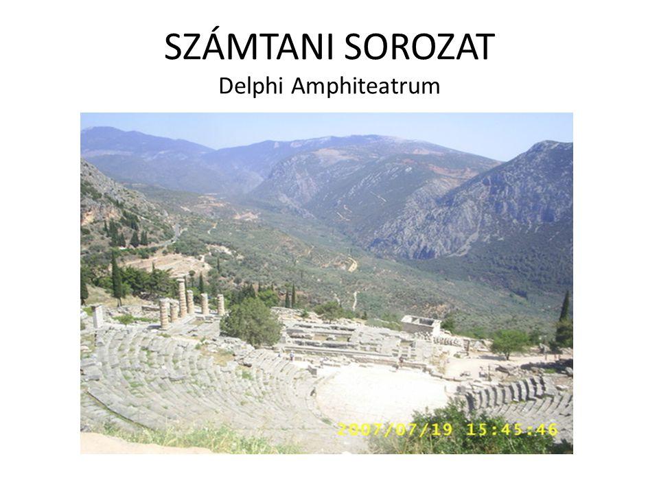 SZÁMTANI SOROZAT Delphi Amphiteatrum