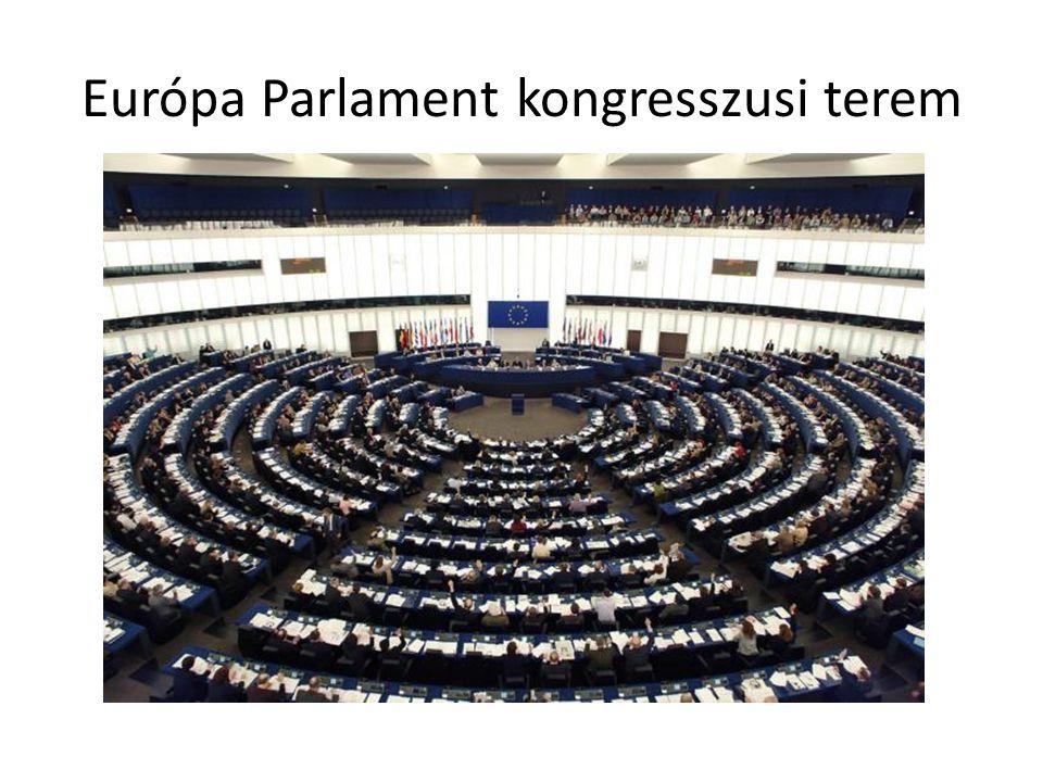 Európa Parlament kongresszusi terem