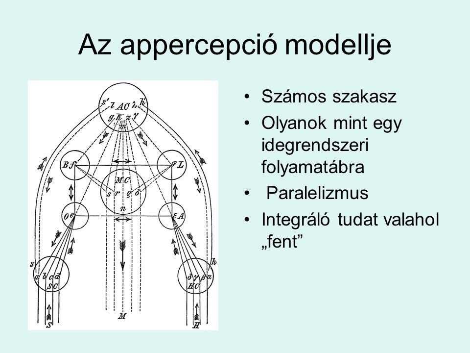 Az appercepció modellje