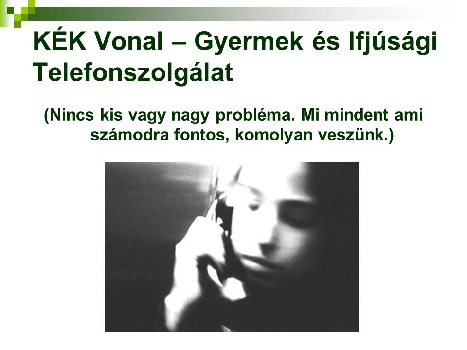 KÉK Vonal – Gyermek és Ifjúsági Telefonszolgálat