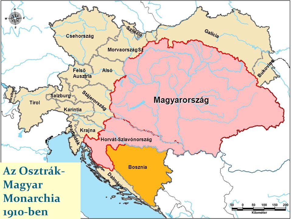Az Osztrák-Magyar Monarchia 1910-ben