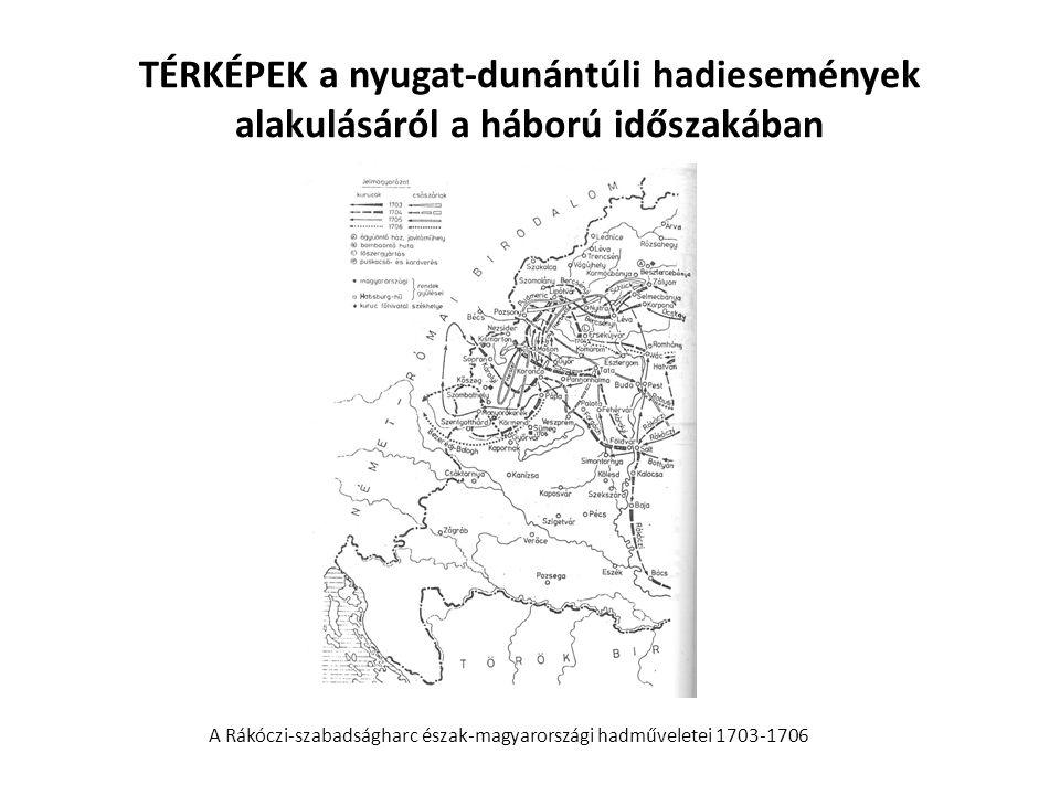 A Rákóczi-szabadságharc észak-magyarországi hadműveletei 1703-1706