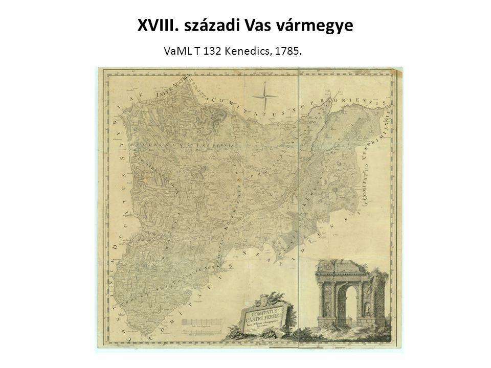 XVIII. századi Vas vármegye