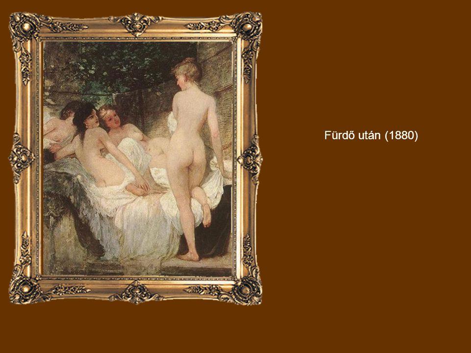 Fürdő után (1880)