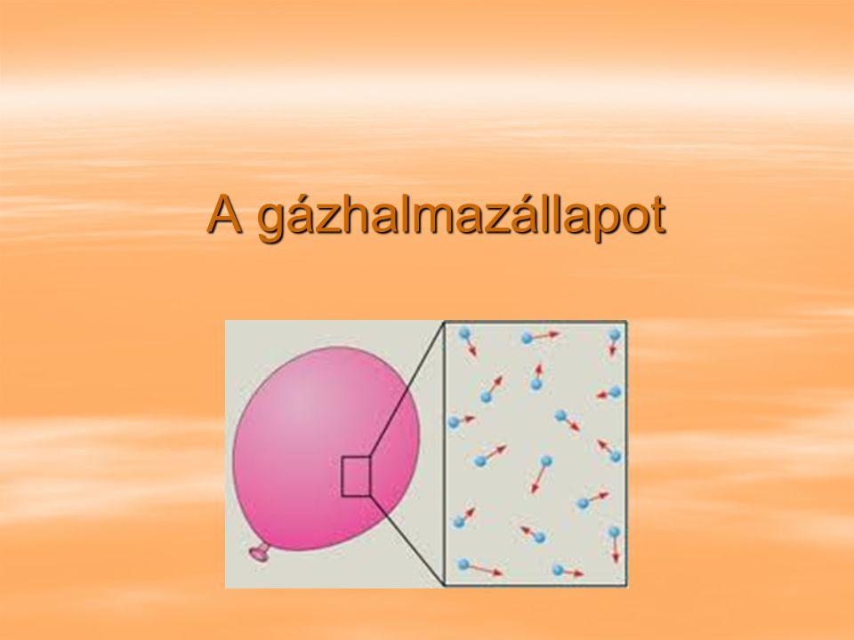 A gázhalmazállapot