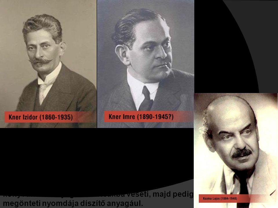 Kner Imre Kozma Lajossal, a kitűnő tervezőművésszel társul, s vele együtt munkálkodik a régi magyar tipográfia tradíciói nyomán a modern magyar tipográfia stílusának megteremtésén.