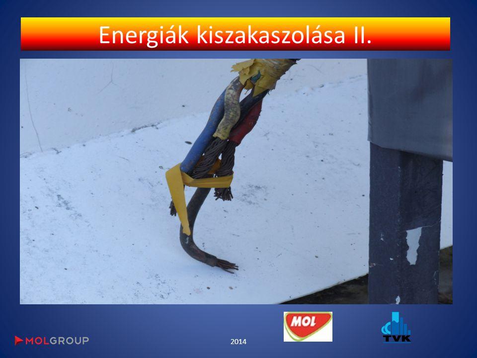 Energiák kiszakaszolása II.