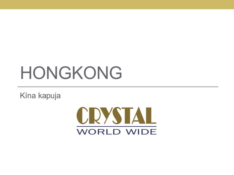 HongkonG Kína kapuja