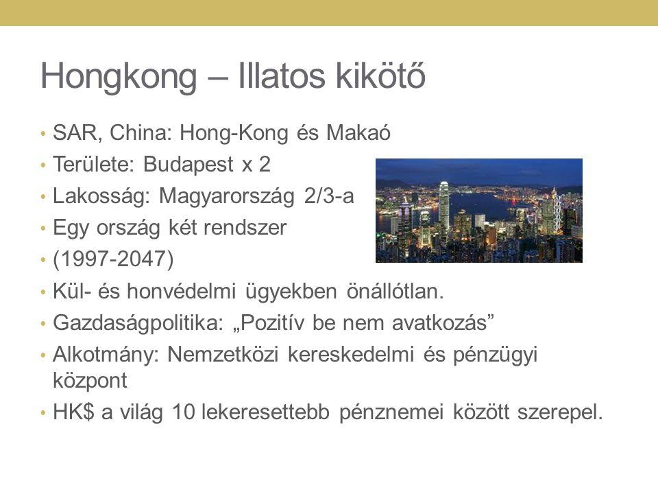 Hongkong – Illatos kikötő