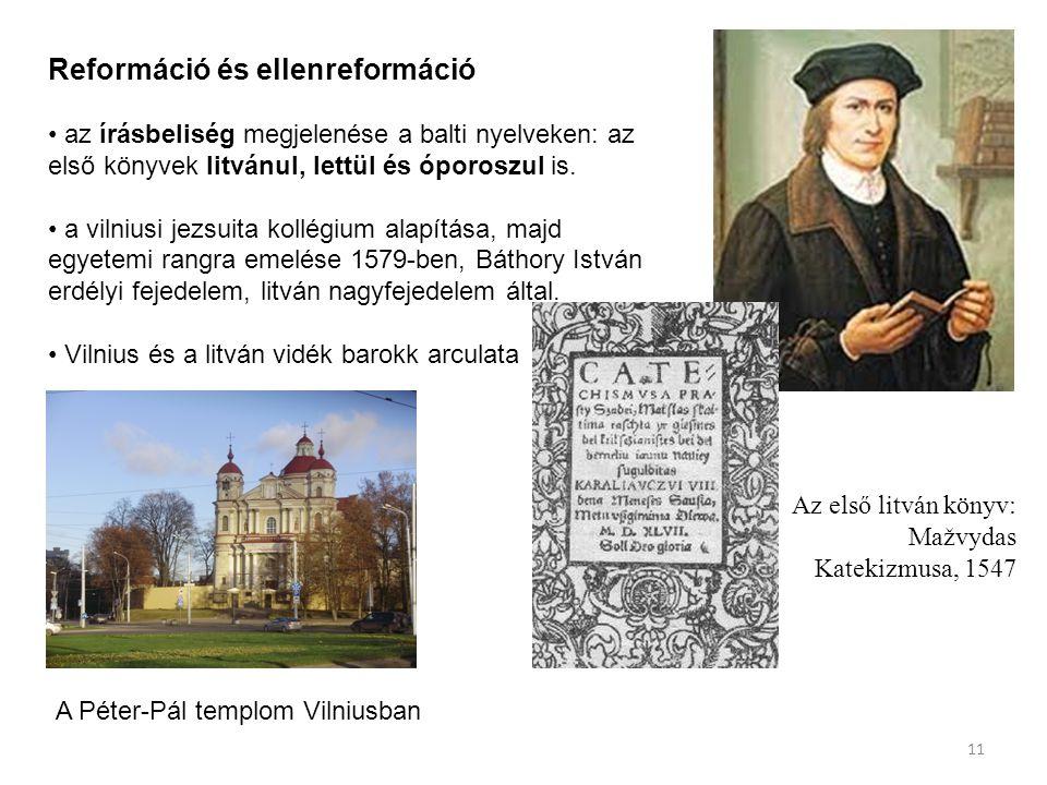 Reformáció és ellenreformáció