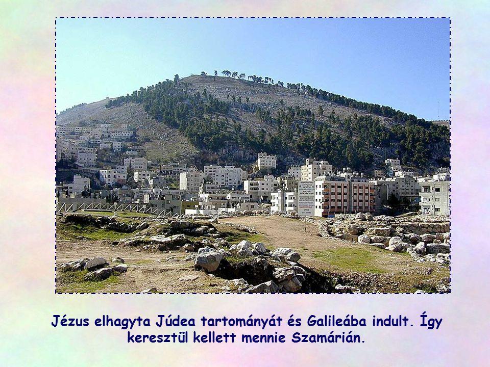 Jézus elhagyta Júdea tartományát és Galileába indult
