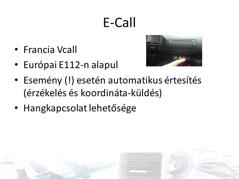 E-Call Francia Vcall Európai E112-n alapul