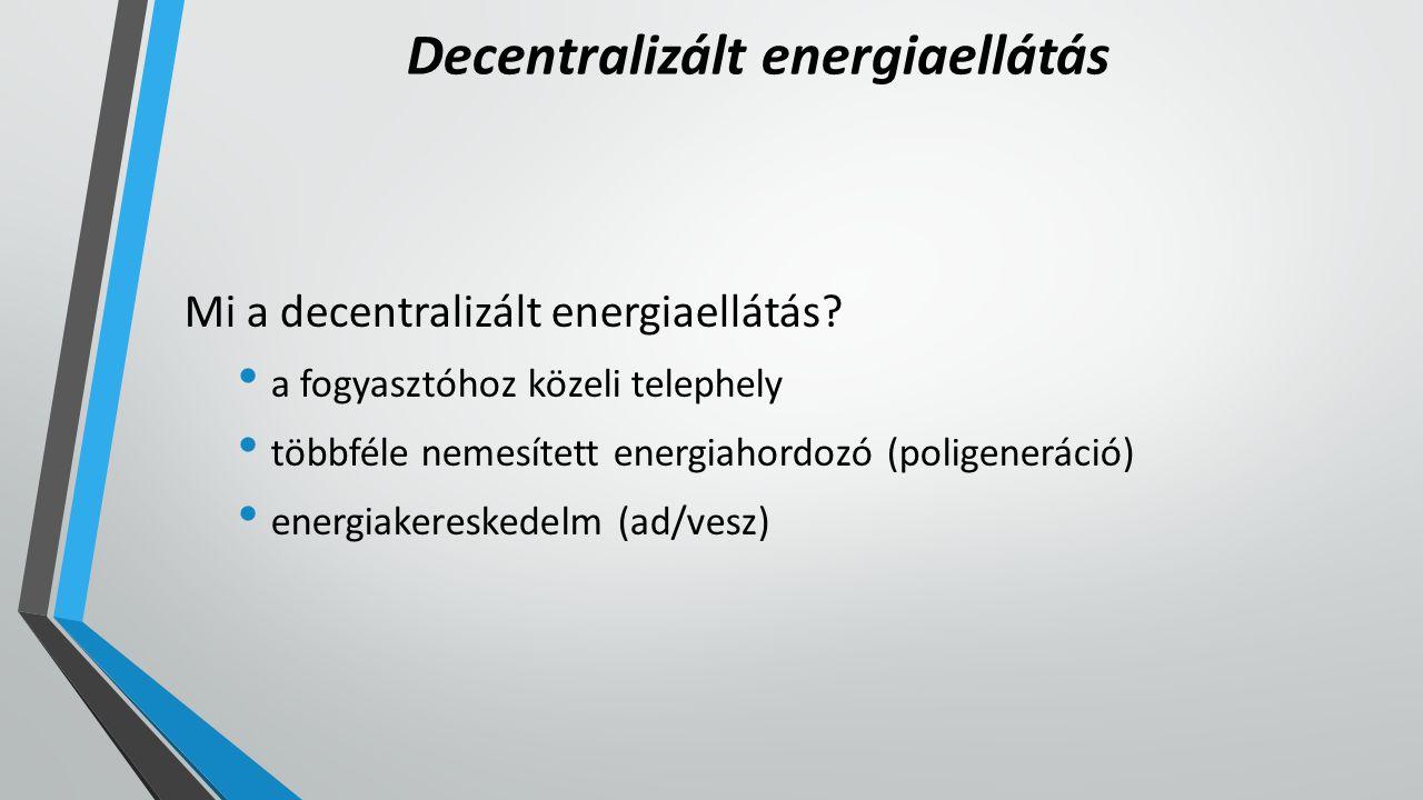 Decentralizált energiaellátás