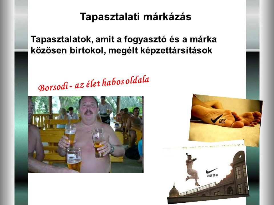 Tapasztalati márkázás