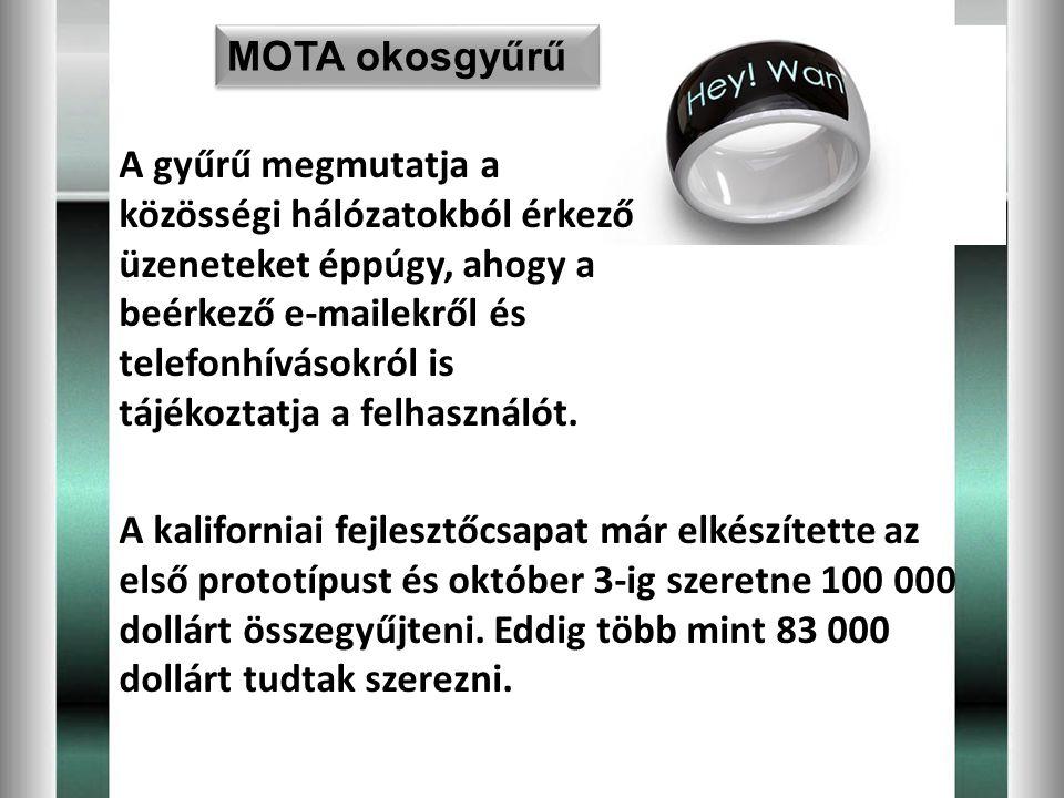 MOTA okosgyűrű