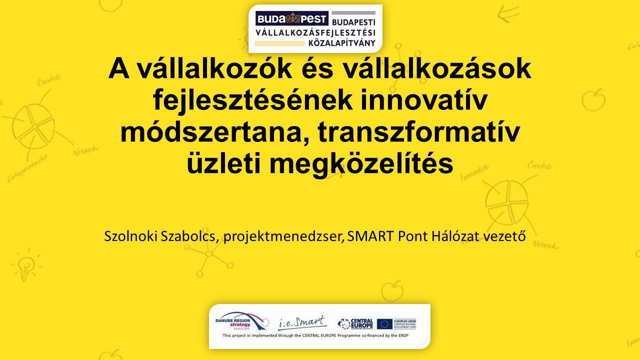 Szolnoki Szabolcs, projektmenedzser, SMART Pont Hálózat vezető