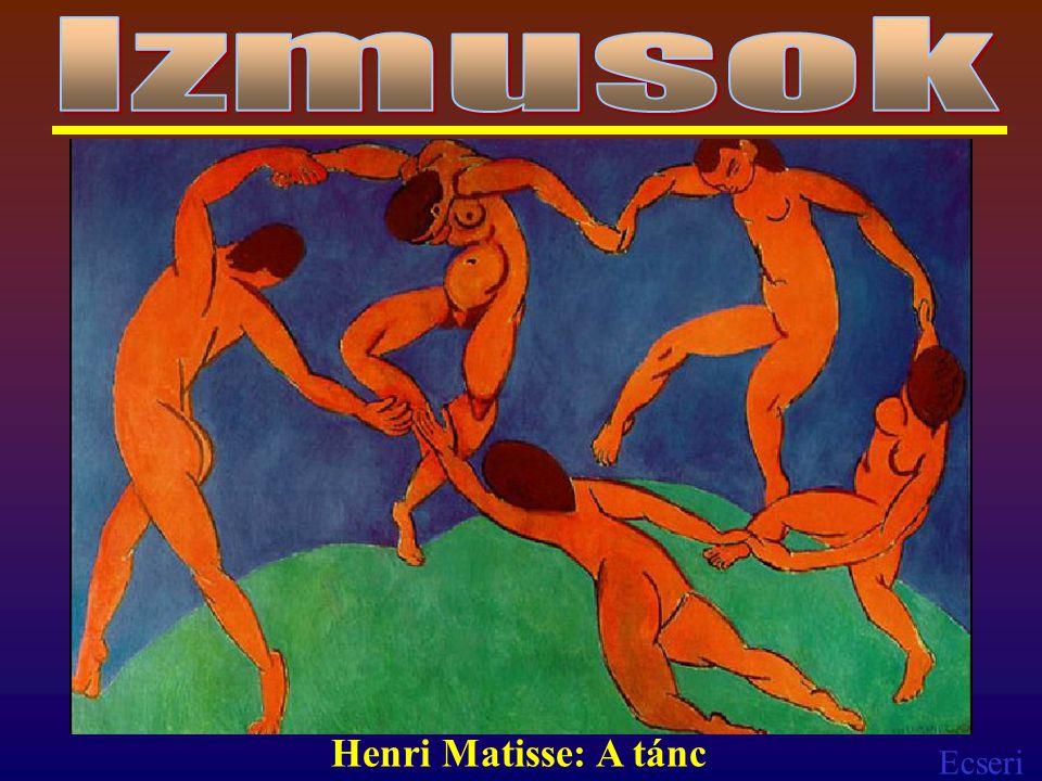 Izmusok Henri Matisse: A tánc