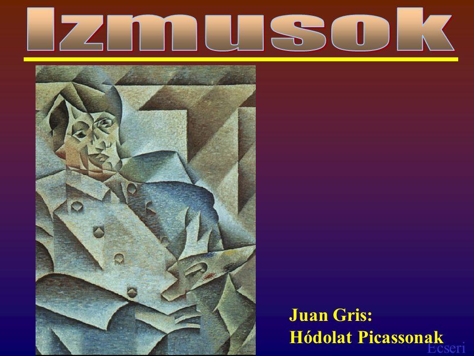 Izmusok Juan Gris: Hódolat Picassonak