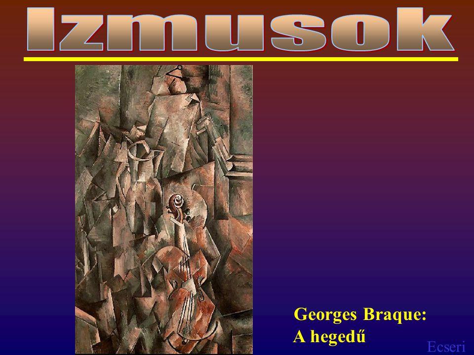 Izmusok Georges Braque: A hegedű