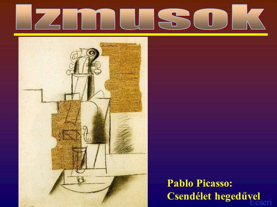 Izmusok Pablo Picasso: Csendélet hegedűvel