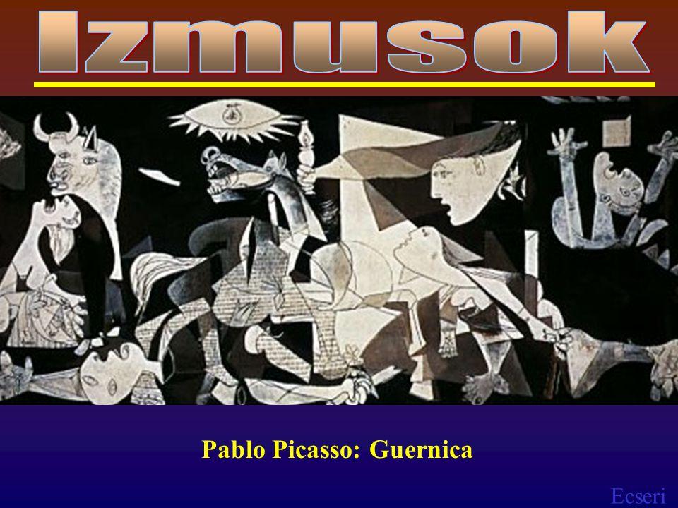 Izmusok Pablo Picasso: Guernica