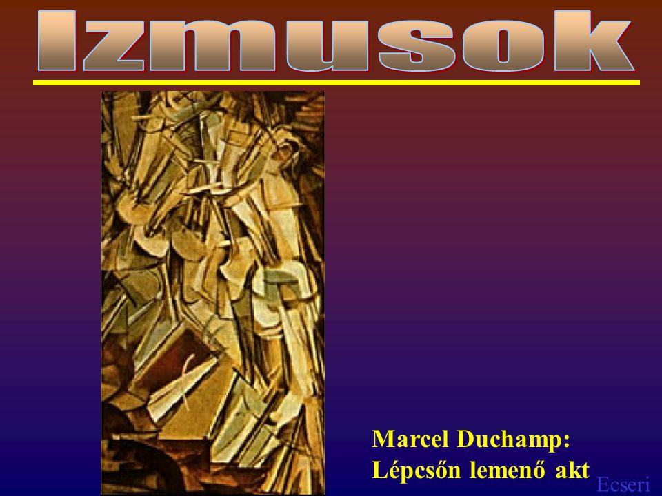 Izmusok Marcel Duchamp: Lépcsőn lemenő akt