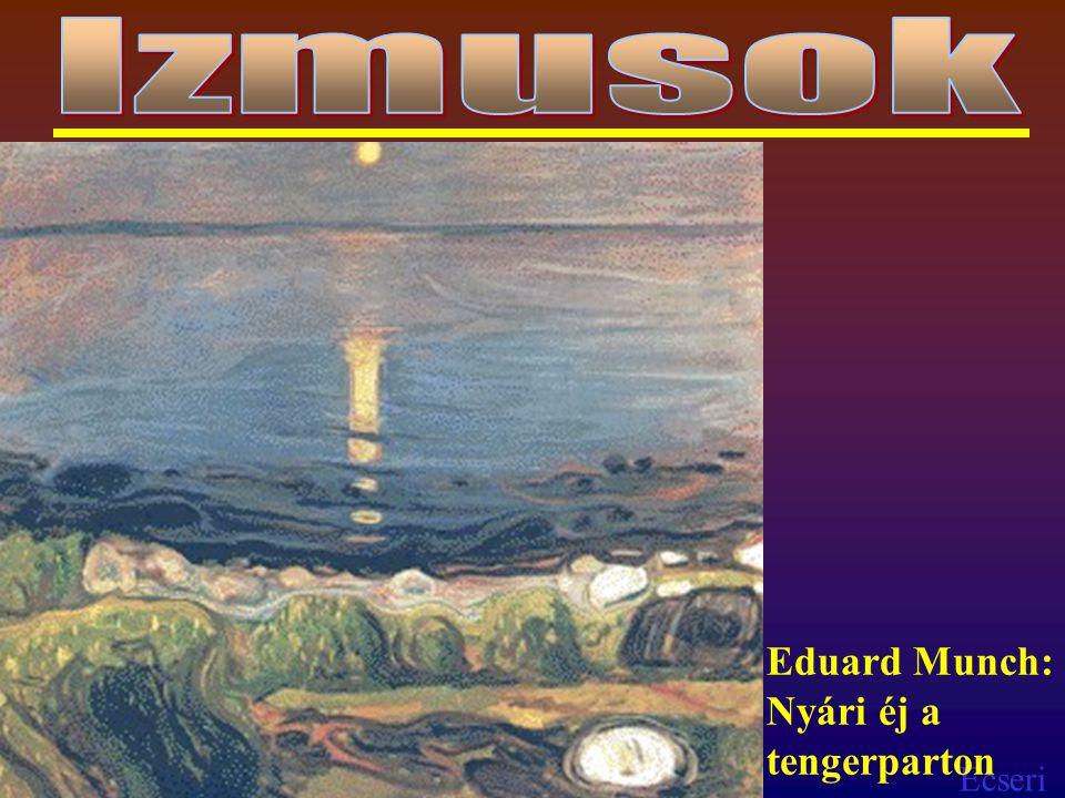 Izmusok Eduard Munch: Nyári éj a tengerparton