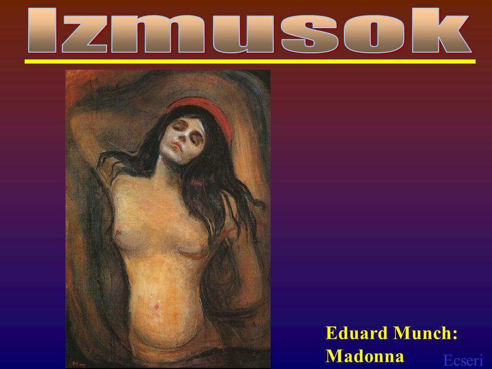 Izmusok Eduard Munch: Madonna