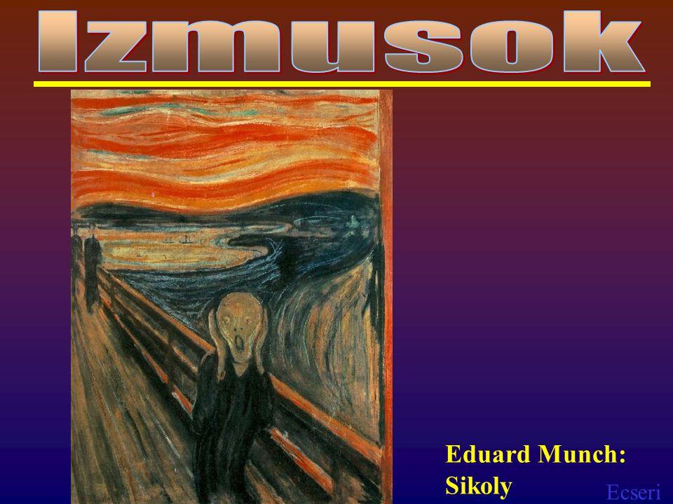 Izmusok Eduard Munch: Sikoly