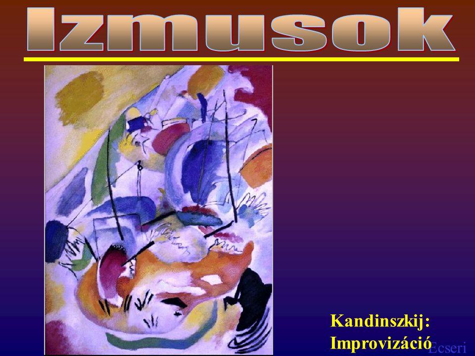 Izmusok Kandinszkij: Improvizáció