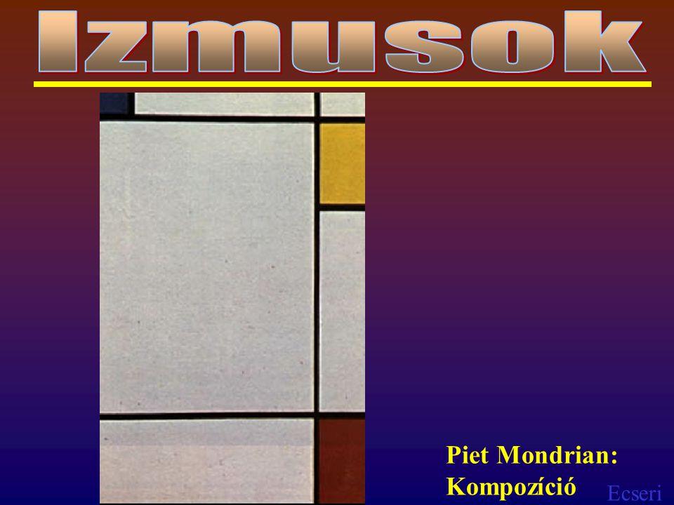 Izmusok Piet Mondrian: Kompozíció