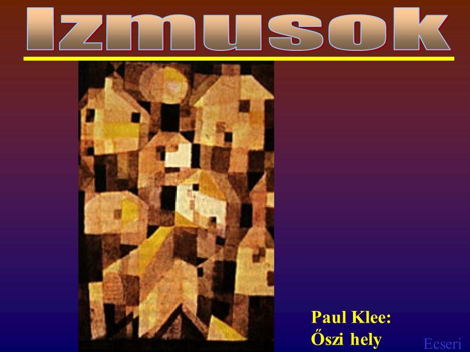 Izmusok Paul Klee: Őszi hely