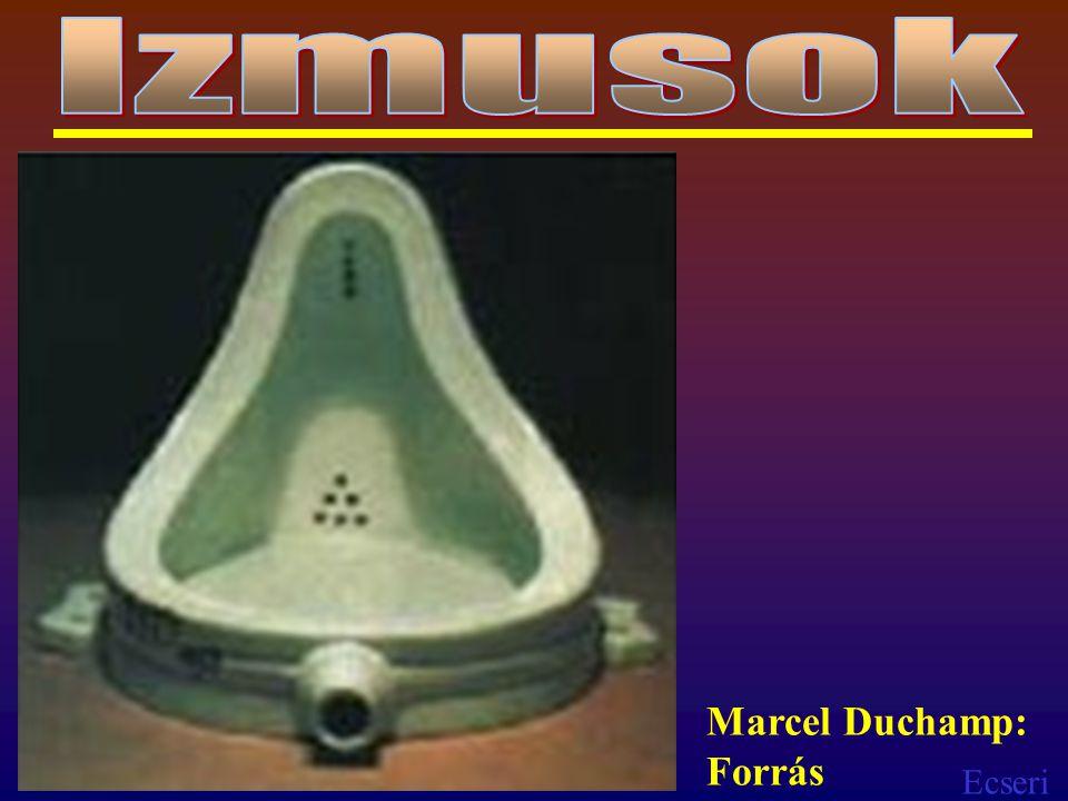 Izmusok Marcel Duchamp: Forrás