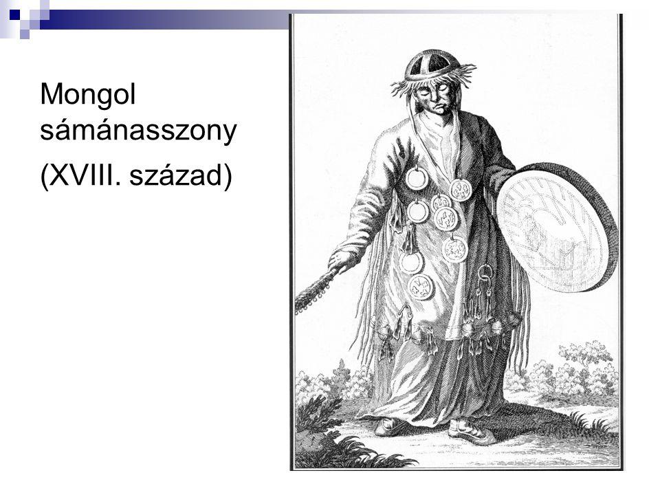 Mongol sámánasszony (XVIII. század)